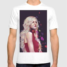 Orchid Mens Fitted Tee White SMALL