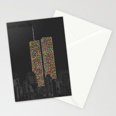 2606 Souls compose The Twin Towers Stationery Cards