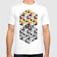 Dimension Mens Fitted Tee White SMALL