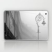 Dublin street lamp in the fog Laptop & iPad Skin