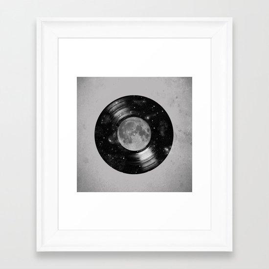 Galaxy Tunes Framed Art Print