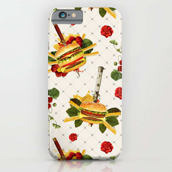 cheeseburger in gangstas paradise iPhone u0026 iPod Case by Alpha-Tone ...