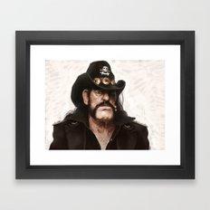 Lemmy Framed Art Print