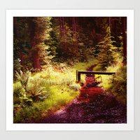 Forest etc. Art Print