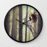 Let Me Go Wall Clock