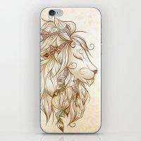Poetic Lion  iPhone & iPod Skin