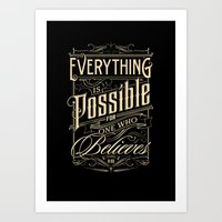 Everything Is Possible Art Print