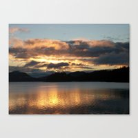 Light Up The Sky Canvas Print