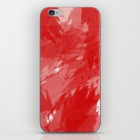RED HOT CHILI PRINT iPhone & iPod Skin