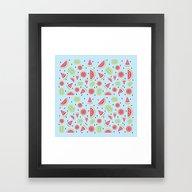 Seedless Watermelon Framed Art Print