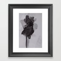 leaf two Framed Art Print