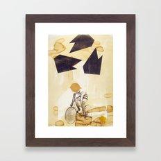 Messenger Framed Art Print