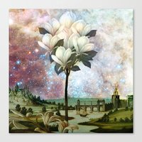 The Magnolia Tree Canvas Print