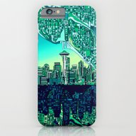 Seattle City Skyline iPhone 6 Slim Case