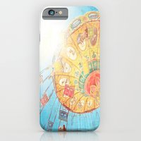 iPhone & iPod Case featuring Boardwalk Fun by Maite Pons