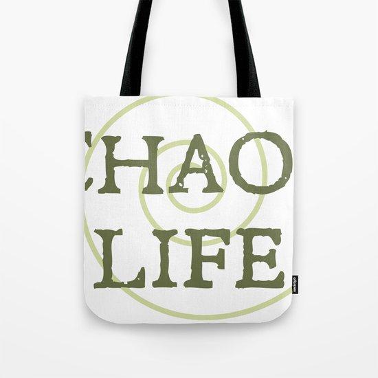 ChaosLife: The Print Tote Bag