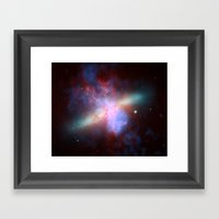 Cosmic Galaxy Framed Art Print