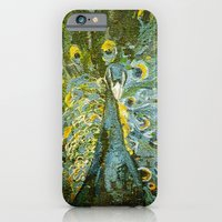 iPhone & iPod Case featuring Green Peacock  by Eternal