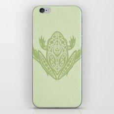 Tribal Leopard Frog iPhone & iPod Skin