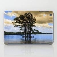 Cypress Trees iPad Case