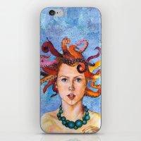 Alter-Ego Self Portrait #3 iPhone & iPod Skin