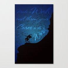 Girl & the Birds Canvas Print