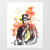 Indiana Jones Art Print