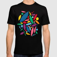 Found Objects SMALL Mens Fitted Tee Black