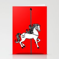 Chinese New Year of the Horse Stationery Cards