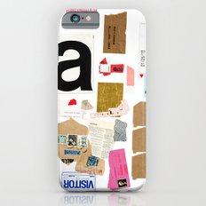 Paper Trail I  iPhone 6s Slim Case