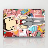 I KNOW YOU ARE, BUT WHAT AM I? iPad Case