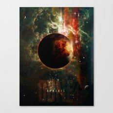 DUNE Planet Arrakis Poster Canvas Print