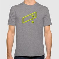 The LATERAL THINKING Project - Contexto Mens Fitted Tee Tri-Grey SMALL
