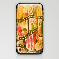 Flowers And Chains iPhone & iPod Skin