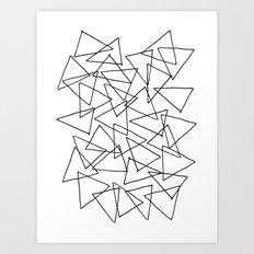Shapes 014 Art Print
