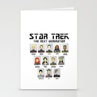STAR TREK THE NEXT GENER… Stationery Cards