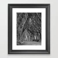 The Trees, Norfolk Framed Art Print