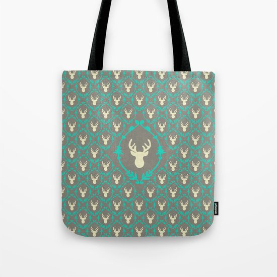 Oh Deer (white) Tote Bag