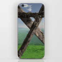 THE MONUMENT, LOOKING NO… iPhone & iPod Skin