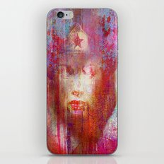 wonder abstract woman iPhone & iPod Skin