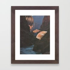Marble  Framed Art Print