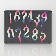 Numbers! Grey iPad Case