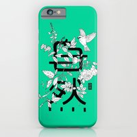 iPhone & iPod Case featuring Shizen wrapped in nature by Shizen.ae