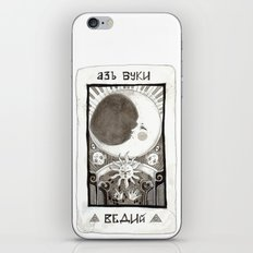alpha beta gamma iPhone & iPod Skin
