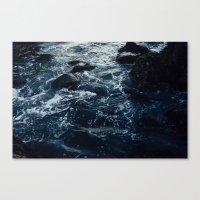 Salt Water Study Canvas Print
