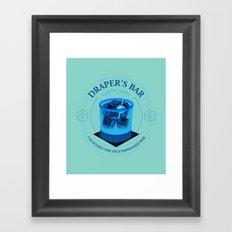Draper's Bar Framed Art Print
