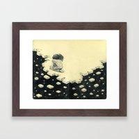 Let's Pretend Everything… Framed Art Print