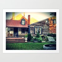 Farm House Art Print