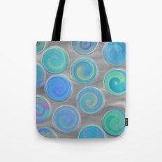 pastel spin Tote Bag