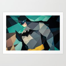 DC Comics Superhero Art Print
